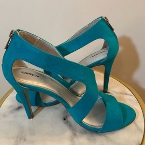 X.APPEAL Turquoise Heels